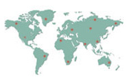 Worldmap | Suppliers of Stainless Steel Industrial & Construction Products Worldwide